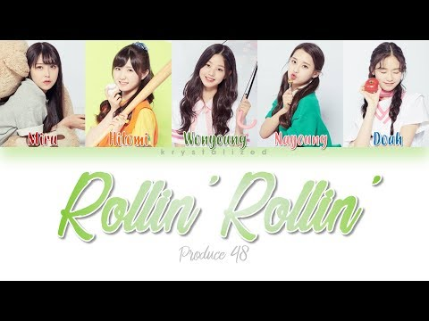 [PRODUCE 48] Love Potion (러브포션) - Rollin' Rollin' [HAN|ROM|ENG Color Coded Lyrics]