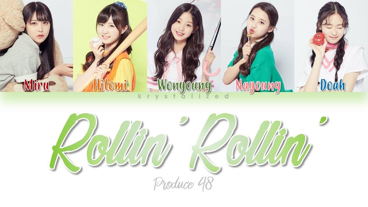 [PRODUCE 48] Love Potion (러브포션) - Rollin' Rollin' [HAN|ROM|ENG Color Coded  Lyrics]
