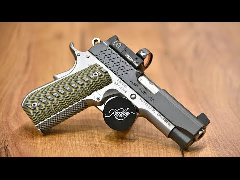Kimber Aegis Elite Pro and Kimber Hero Custom 1911 pistols