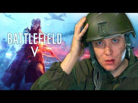 Ах вот какая была война! Battlefield 5 ULTRA - зашел в игру в первый раз и ахренел! thumbnail