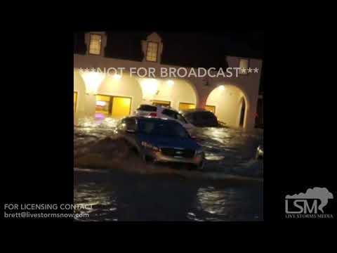 06-20-2018 Bethel Park, PA - Flash flooding sweeps cars away