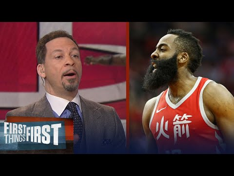 Chris Broussard on why Harden's Rockets won't dethrone the Warriors | FIRST THINGS FIRST