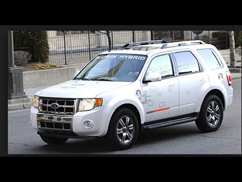 Ford Escape Energi Is Testing As A Plug In Hybrid