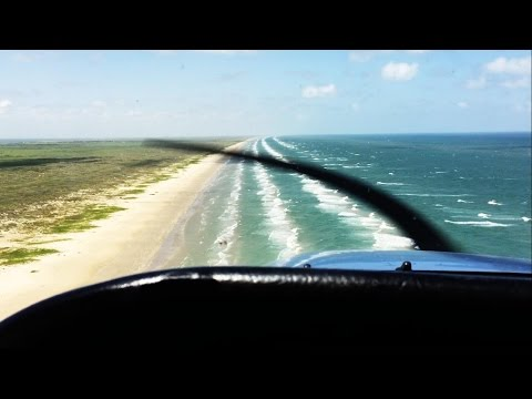 500ft Over the Beach | Cessna 172 | Gulf of Mexico