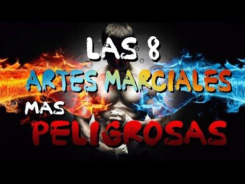 LAS 8 ARTES MARCIALES MÁS PELIGROSAS