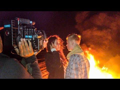 VLOGG   Manfreds Musikvideo - Allt börjar brinna!
