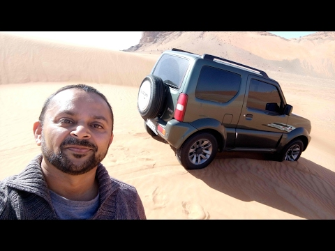 360 VR Suzuki Jimny and Toyota Land Cruiser Desert Off Roading