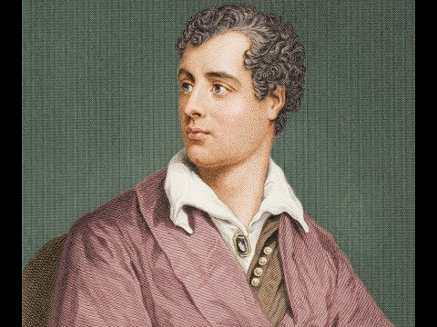 Lord Byron FRS (1788-1824) Poet