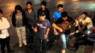 """Palomazo en la calle """"Y que quede claro"""" - La Arrolladora Banda Limón (Cover - Los Compis)"""