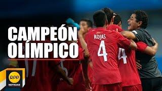 Selección peruana de fútbol Sub. 15 ganó el Oro Olímpico