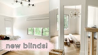 We got motorized blinds for the whole house! (Select Blinds) | ELA BOBAK