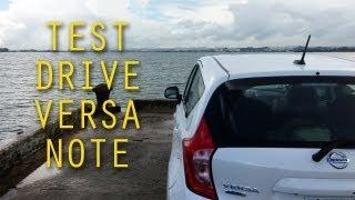 Test drive nissan versa note