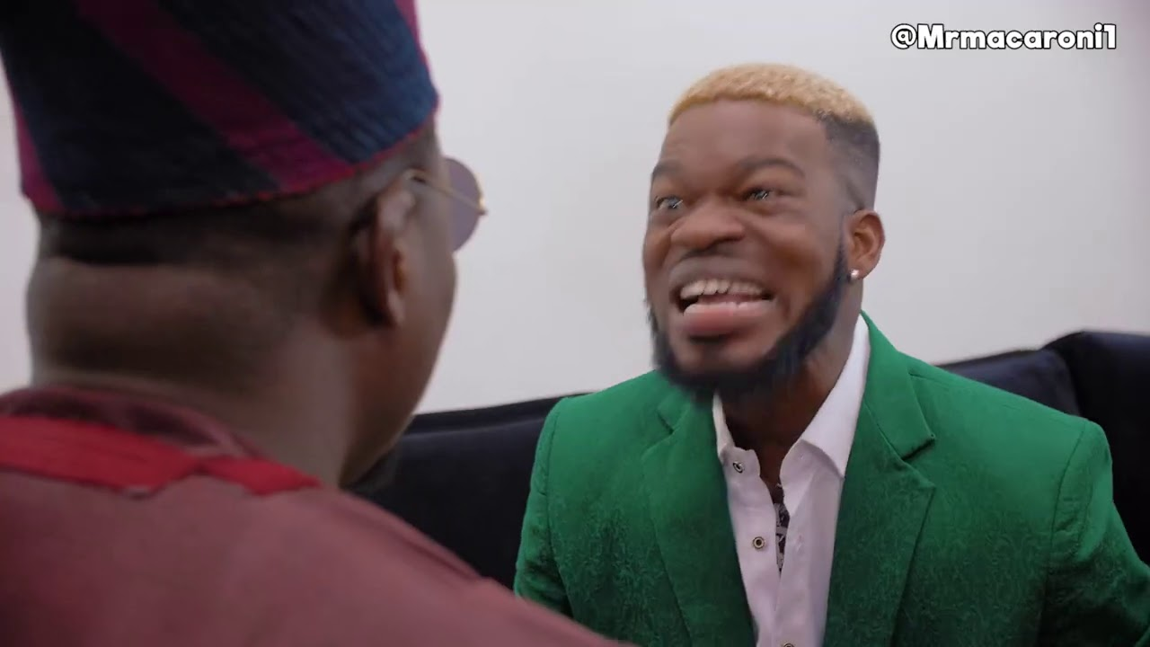 BRODASHAGGI asks MR MACARONI for his daughter's hand in Marriage