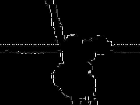 【東方】Bad Apple!! ~ Dark Ascii Ver