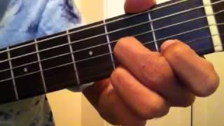 how to do the guitar chords a7 b7 c7 d7 e7 f7 g7