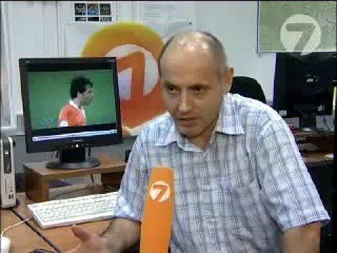 Дагестанский комментатор Рамазан Рамазанов дает интервью