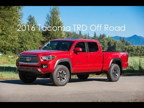 2016 Toyota Tacoma Trd Off Road Long Bed Video Tour