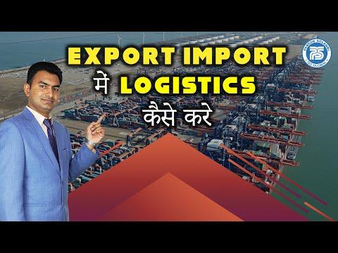 How to do Export Import Logistics