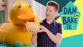 Rubber Ducky Cake 🛀 DAN CAN BAKE IT CHALLENGE #6