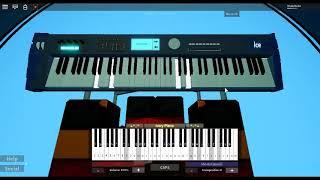 Beneath the Mask - Persona 5 von: Shoji Meguro auf einem ROBLOX Klavier.