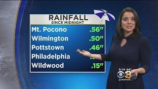 Tuesday Evening Weather Forecast: Scattered Showers, Possible Thunder-Storm Overnight; Low 63