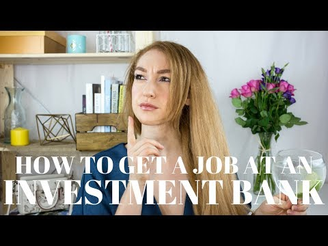 How To Get A Graduate Job At An Investment Bank // Gin & Topic Ep.1