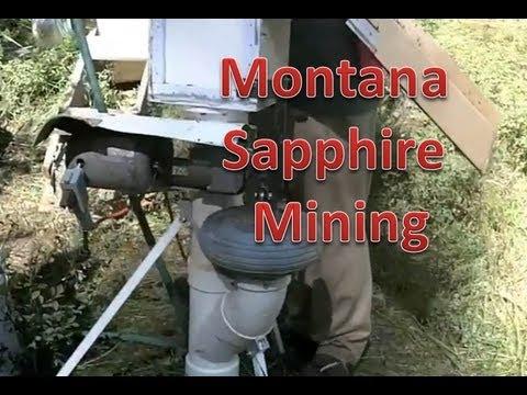 Montana Sapphire Mining