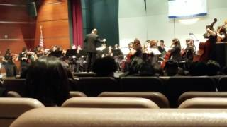 The Mt. Eden High School String Orchestra