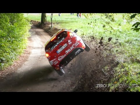 East Belgian Rally 2014 | Mistakes, Close Calls And Flatout Rally Action [HD]