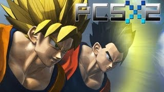 PCSX2 DBZ Budokai Tenkaichi 3 1080p Test Recording: Goku/Vegeta vs. 19