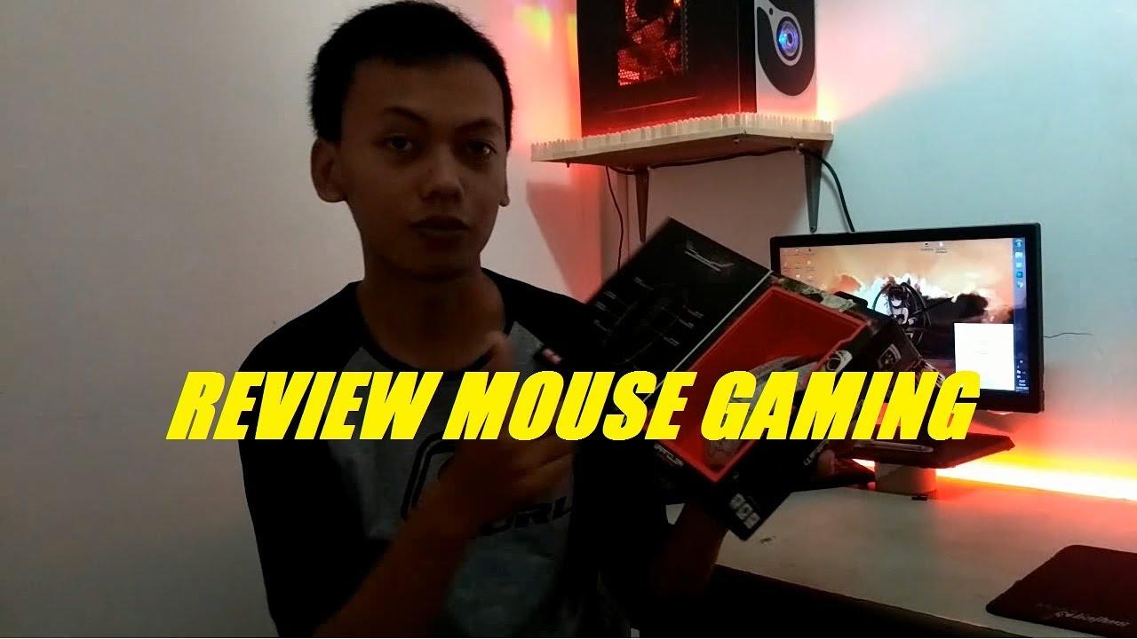 Mouse Gaming Murah Harga Bersahabat Review Warwolf Q7 Youtube Macro Q8