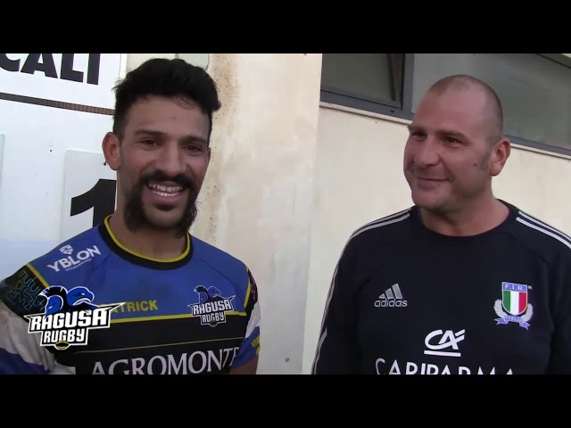 Intervista post partita Ragusa Rugby vs CAS Reggio Calabria 71 - 7