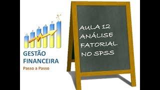 Aula 12 - Análise Fatorial no SPSS - Pesquisa em Educação Financeira