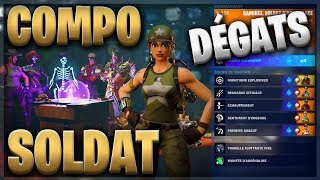 COMPO SOLDAT ASSAUT DAMAGE - FORTNITE SAUVER THE WORLD