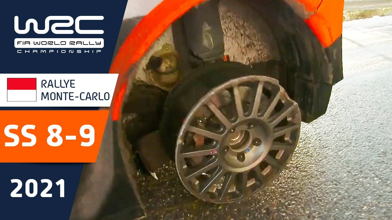 WRC - Rallye Monte-Carlo 2021: Highlights Stages 8 - 9