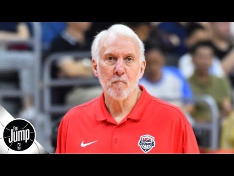 Gregg Popovich calls Team USA critics 'immature' and 'arrogant' | The Jump