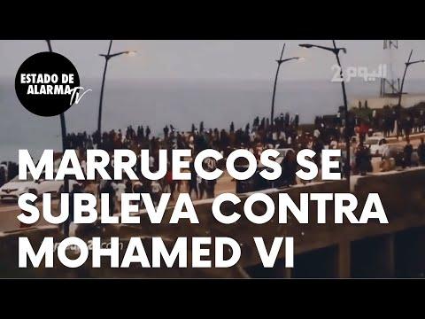 Importante sublevación en Marruecos contra el rey Mohamed VI por sus mentiras sobre Ceuta y Melilla