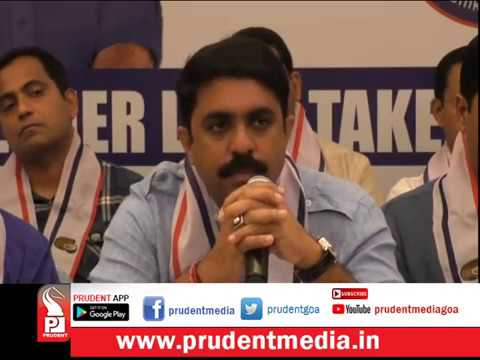 CONGRESS MLAs STILL IN TOUCH, GIRISH IS HURDLE: VIJAI_Prudent Media Goa