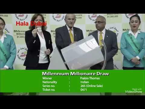 Million $ Winner DUBAI Duty Free 06/03/2018