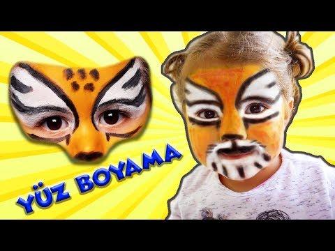 Yuz Boyama Eylul Aslan Makyaji Eglenceli Cocuk Videosu Tontik