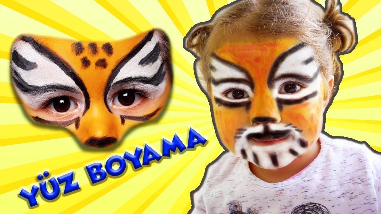 Yüz Boyama Eylül Aslan Makyajı Eğlenceli çocuk Videosu Tontik Tv