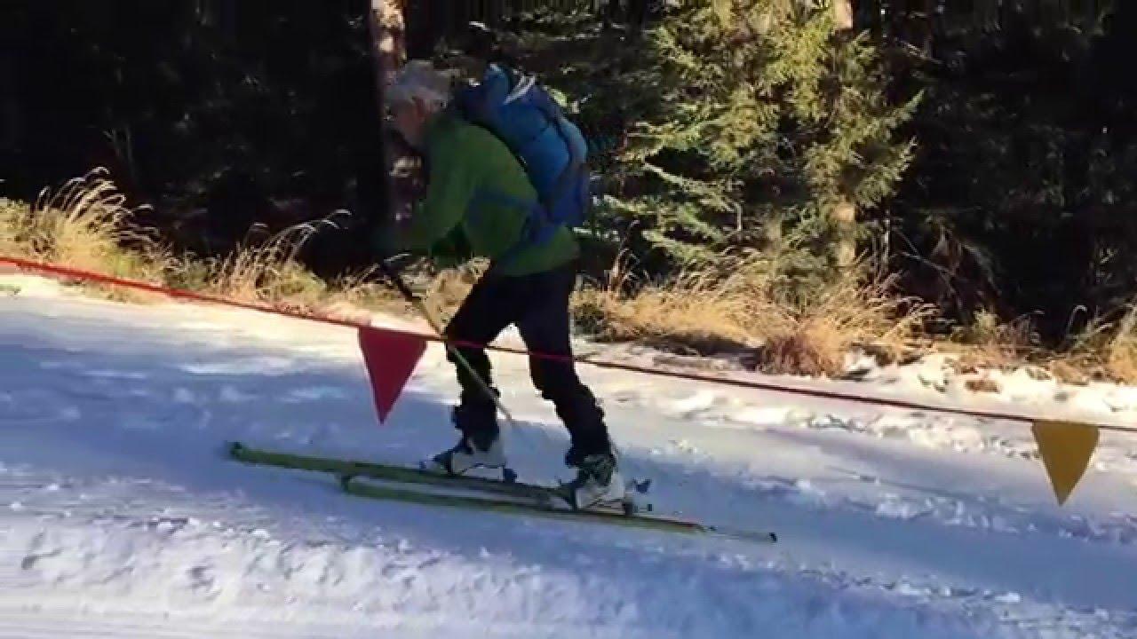 Obereggen snowpark-ski freestyle