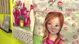 Ana Laura – Pintura em tecido