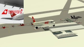 CABIN CREW | SWISS Int'l Air Lines - Airbus A330 | ROBLOX