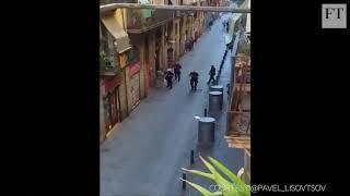 Van attack in Barcelona