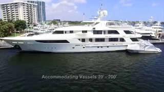 Old Port Cove Marina | Mega Yacht Docking | Docks Available | Boat Docking Palm Beach