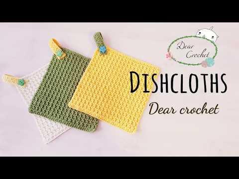 코바늘 키친타올 /다용도 수건 /코바늘 핸드타올/홈데코 (Crochet Dishcloth)