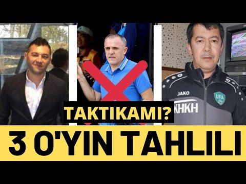 Ўзбекистон U23 гуруҳдаги ўйинлари таҳлили. Друлович ОУТми?
