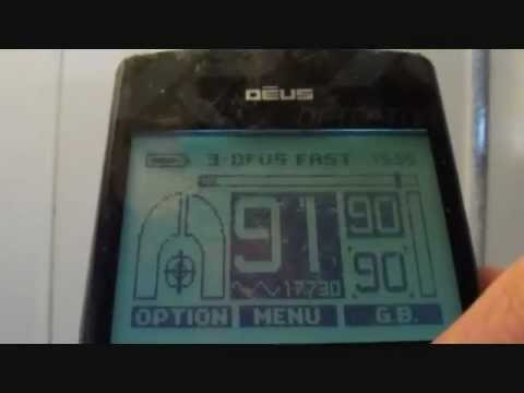 Metal Detecting UK (247) XP Deus - Metals in Different Modes