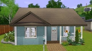 Sims 3 House Building (starter Home) - Lovely Begin